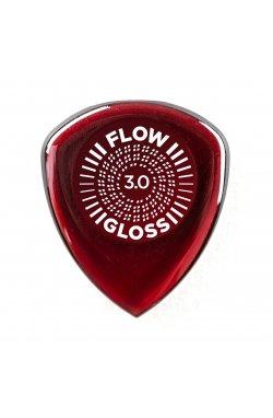 Медиатор DUNLOP FLOW GLOSS PICK 3.0MM