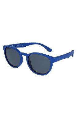 Детские солнцезащитные очки INVU K2002A - круглые, Цвет линз - серый