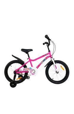 """Велосипед детский RoyalBaby Chipmunk MK 16"""", OFFICIAL UA, розовый"""