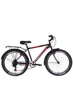"""Городской Велосипед Велосипед 26"""" Discovery PRESTIGE MAN 2021 (антрацитовый)"""