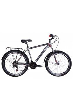 """Городской Велосипед Велосипед 26"""" Formula MAGNUM 2021 (черно-оранжевый (м))"""