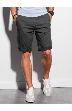 Шорты мужские casual W243 - чёрный - Ombre