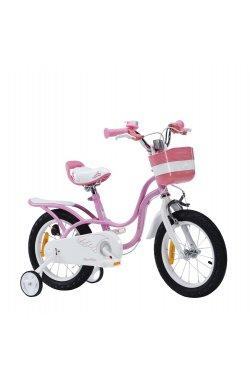 """Велосипед RoyalBaby STAR GIRL 16"""", OFFICIAL UA, фиолетовый"""