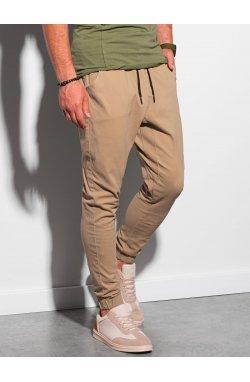 Мужские штаны-джоггеры P885 - карамельный - Ombre
