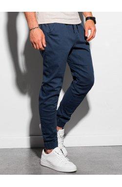 Мужские штаны-джоггеры P885 - темно-синий - Ombre
