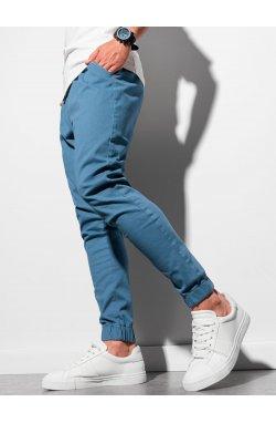 Мужские штаны-джоггеры P885 - синий - Ombre