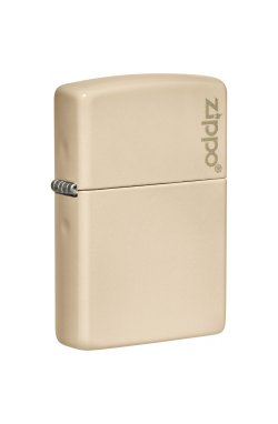 Зажигалка Zippo Classics Flat Sand Zippo Logo Zp49453zl