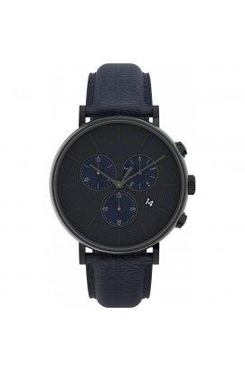 Мужские часы Timex FAIRFIELD Chrono Tx2u88900, Циферблат - Синий, Корпус - Черный, США