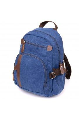 Рюкзак текстильный унисекс Vintage 20602 Синий