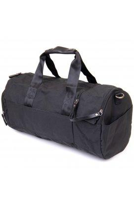 Спортивная сумка текстильная Vintage 20640 Черная