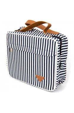 Сумка органайзер для путешествий текстильная Vintage 20651 Белая