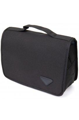 Текстильная сумка-органайзер в путешествие Vintage 20657 Черная
