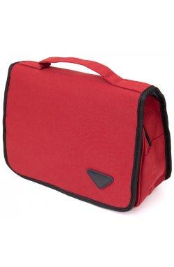 Текстильная сумка-органайзер в путешествие Vintage 20658 Малиновая