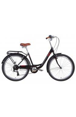 """Городской Велосипед Велосипед 26"""" Dorozhnik RUBY 2021 (красный)"""
