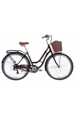 """Городской Велосипед Велосипед 28"""" Dorozhnik CORAL 2021 (рубиновый)"""