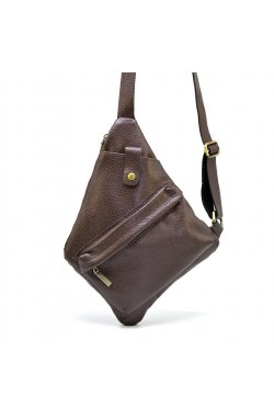 Нагрудная сумка слинг, через плечо FC-6501-3md бренд TARWA Коричневый