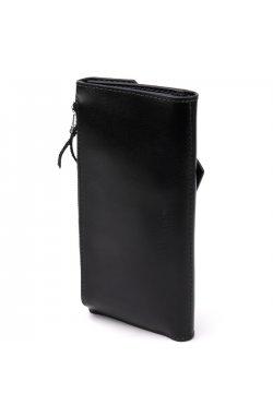 Многофункциональный клатч 11337 Grande Pelle Черный
