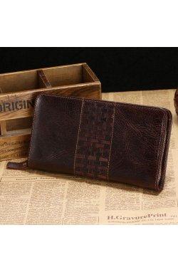 Стильная мужская барсетка портмоне Vintage 14188
