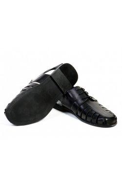 Туфли мужские Clemento 7132678 цвет черный, кожа