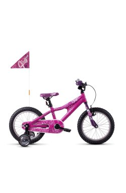 "Велосипед Ghost POWERKID 16"" , розово-фиолетово-белый, 20121"