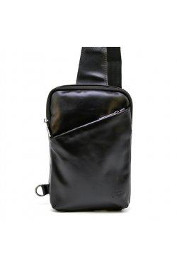 Мини-рюкзак мужской на одну шлейку GA-0204-3md TARWA Черный
