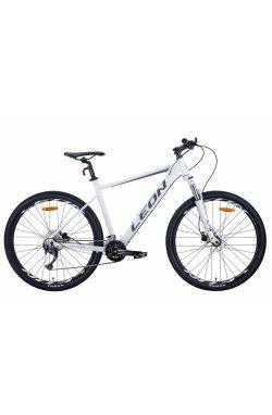 """Горный Велосипед Велосипед 27.5"""" Leon XC-70 2021 (бело-серый с черным)"""