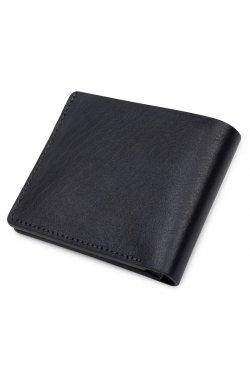 Кожаное мужское стильное портмоне GRANDE PELLE 11552 Синий