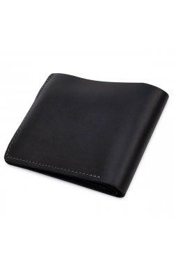 Небольшое мужское портмоне GRANDE PELLE 11566 Черный