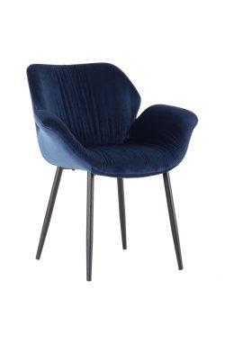 Кресло Alphabet M black/royal blue - AMF - 547270
