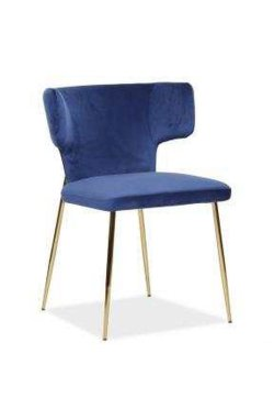 Кресло Alphabet L black/royal blue - AMF - 547268