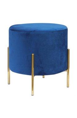 Пуф Mylene Blue / Golden Chrom - AMF - 547475