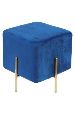 Пуф Ritz Blue / Golden Chrom - AMF - 547478