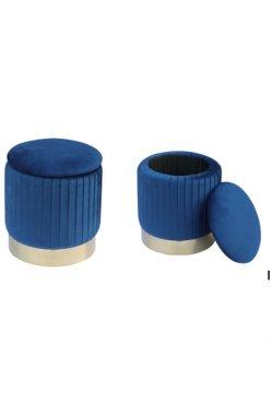 Пуф Little Monte Blue / Golden Chrom - AMF - 547490