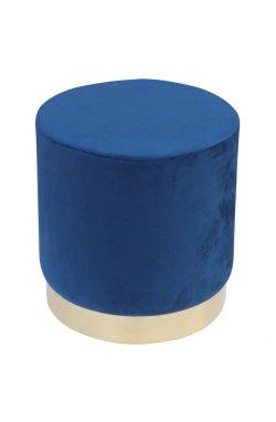 Пуф Madrid Blue / Golden Chrom - AMF - 547499