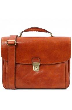 TL142067 Alessandria - кожаный мужской портфель мультифункциональный, цвет: Мед Мед