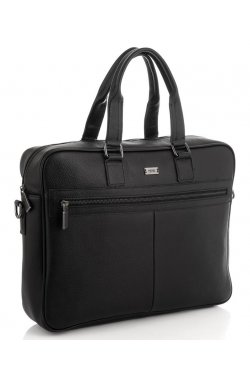 Мужская сумка для ноутбука натуральная кожа Ricardo Pruno RP23-M8018A - натуральная кожа, черный