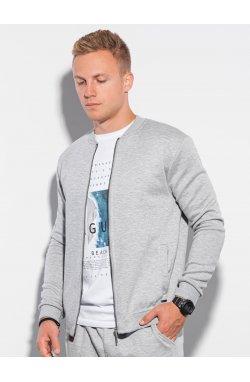 Men's set hoodie + pants Z27 - серый - Ombre