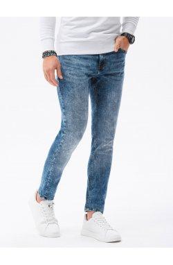 Мужские джинсовые штаны P1022 - синий - Ombre