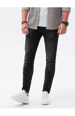 Мужские джинсовые штаны P1023 - чёрный - Ombre