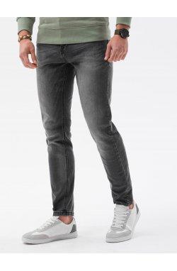 Мужские джинсовые штаны P1023 - графитный - Ombre