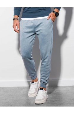 Мужские спортивные штаны P991 - синий - Ombre