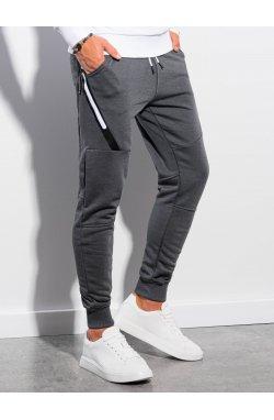 Мужские спортивные штаны P1002 - графитный - Ombre