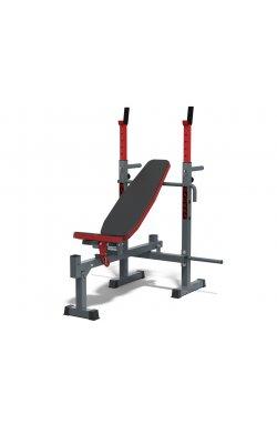 Универсальная скамья PLGsport К111 Grey