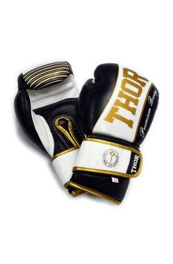 Перчатки боксерские THOR THUNDER 14oz /PU /черные