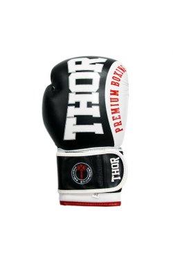 Перчатки боксерские THOR SHARK 12oz /Кожа /черные