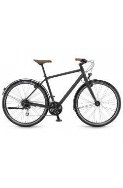 """Велосипед Winora Flitzer men 28"""" 24-G Acera, рама 56 см , черный матовый, 2021"""