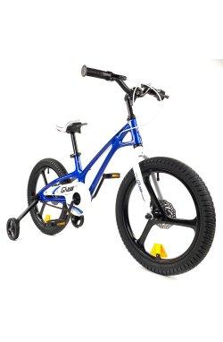 "Велосипед RoyalBaby GALAXY FLEET PLUS MG 18"", OFFICIAL UA, синий"