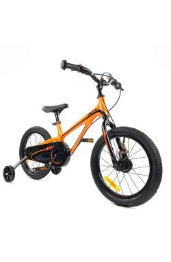 """Велосипед RoyalBaby Chipmunk MOON 18"""", Магний, OFFICIAL UA, оранжевый"""