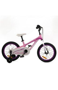 """Велосипед RoyalBaby Chipmunk MOON 18"""", Магний, OFFICIAL UA, розовый"""