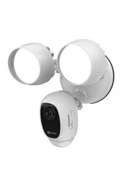 2МП Wi-Fi камера с освещением и сиреной EZVIZ CS-LC1C-A0-1F2WPFRL(2.8mm)